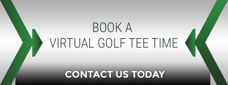 Book a virtual Golf Tee Time Banner
