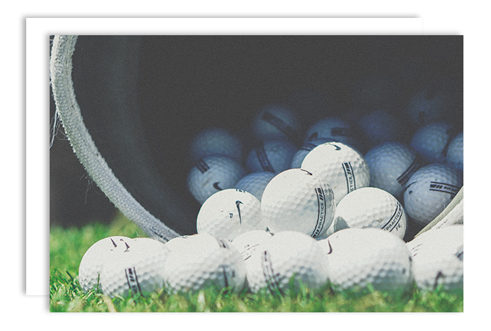Image of Nike practice golf balls