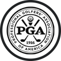 PGA Graphic Logo White