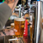 Image of a Draft beer being poured